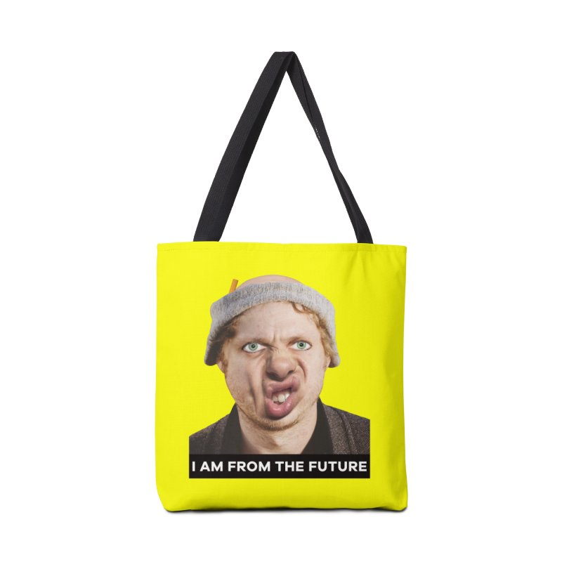 I Am From the Future Accessories Tote Bag Bag by The Rake & Herald Online Clag Emporium