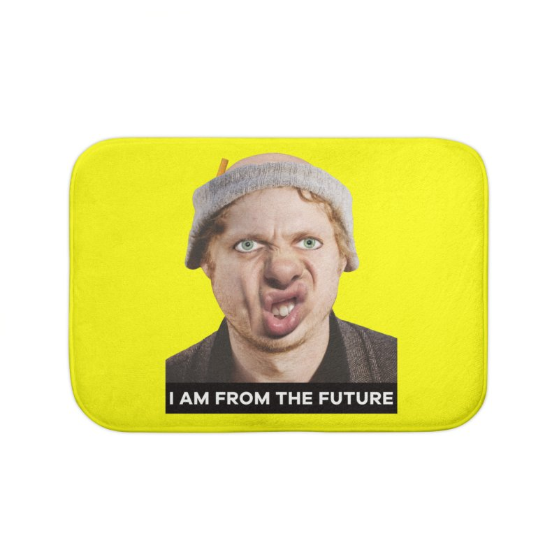 I Am From the Future Home Bath Mat by The Rake & Herald Online Clag Emporium