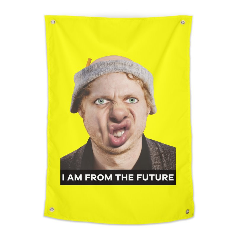 I Am From the Future Home Tapestry by The Rake & Herald Online Clag Emporium