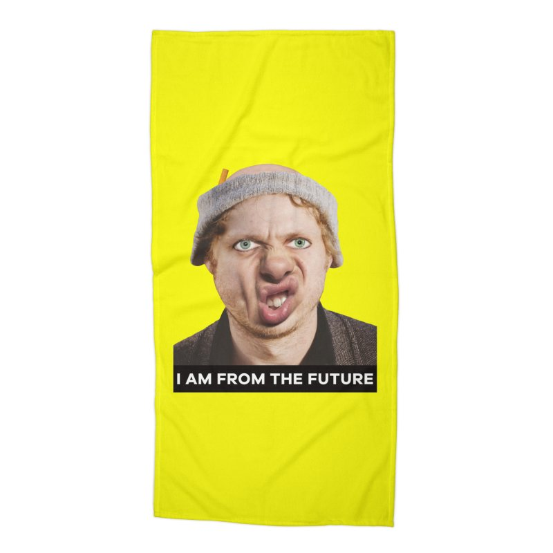 I Am From the Future Accessories Beach Towel by The Rake & Herald Online Clag Emporium
