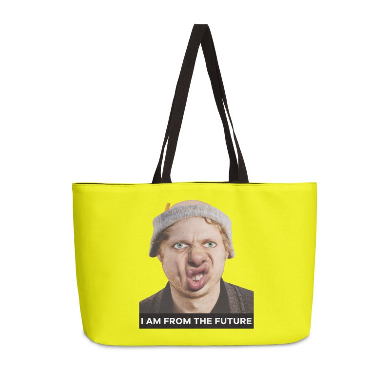 I Am From the Future Accessories Weekender Bag Bag by The Rake & Herald Online Clag Emporium