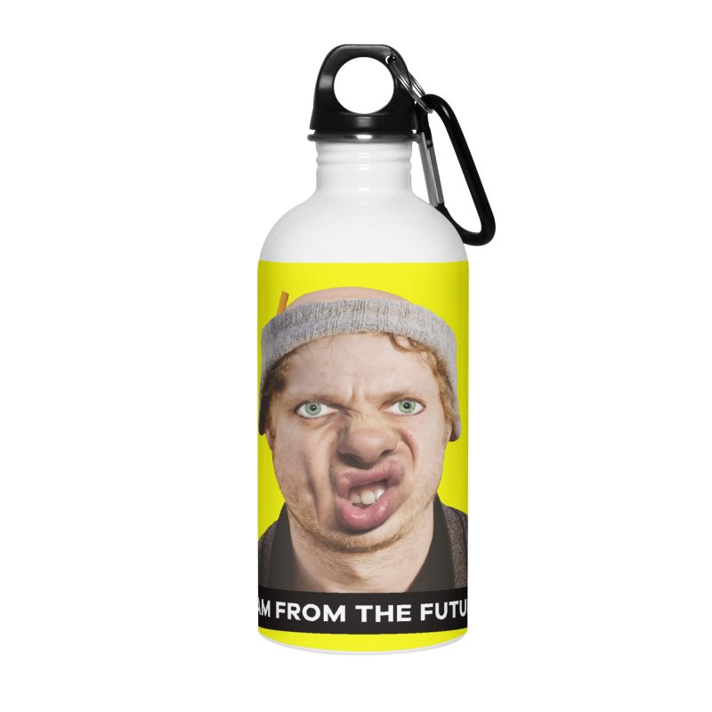 I Am From the Future Accessories Water Bottle by The Rake & Herald Online Clag Emporium