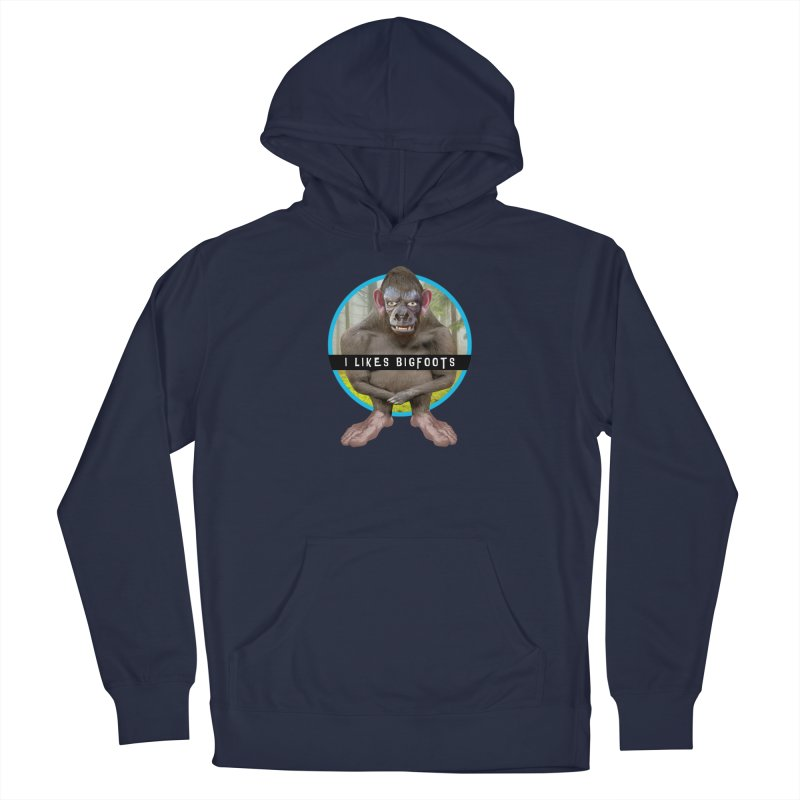 I Likes Bigfoots Men's Pullover Hoody by The Rake & Herald Online Clag Emporium