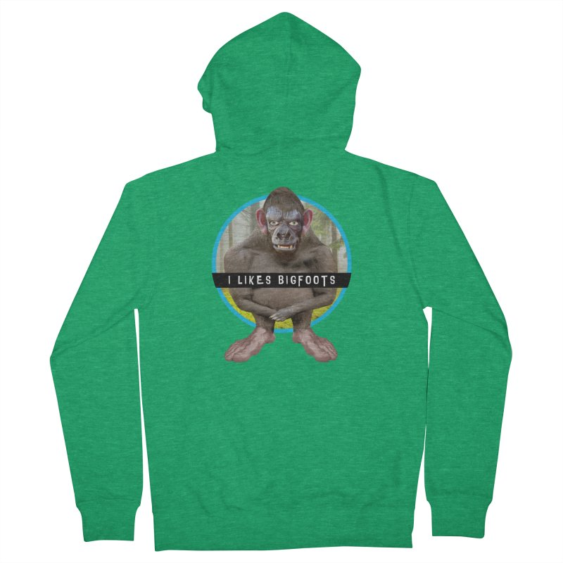 I Likes Bigfoots Men's Zip-Up Hoody by The Rake & Herald Online Clag Emporium
