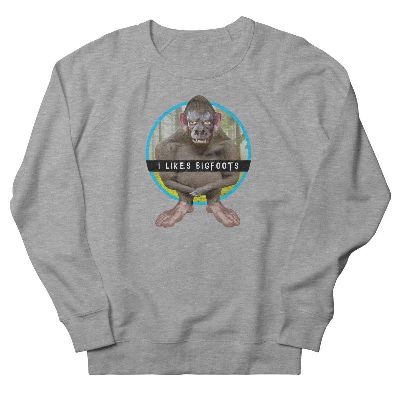 I Likes Bigfoots Men's Sweatshirt by The Rake & Herald Online Clag Emporium