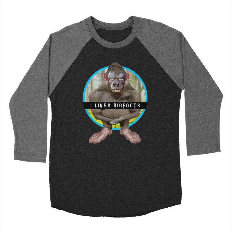 I Likes Bigfoots Women's Baseball Triblend Longsleeve T-Shirt by The Rake & Herald Online Clag Emporium