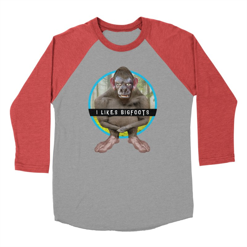 I Likes Bigfoots Men's Longsleeve T-Shirt by The Rake & Herald Online Clag Emporium