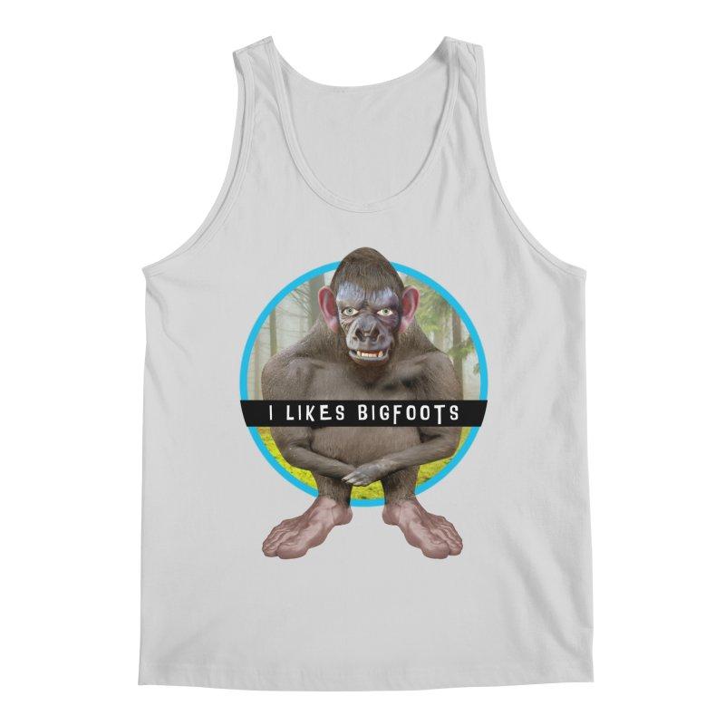 I Likes Bigfoots Men's Regular Tank by The Rake & Herald Online Clag Emporium