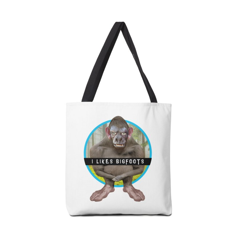 I Likes Bigfoots Accessories Tote Bag Bag by The Rake & Herald Online Clag Emporium
