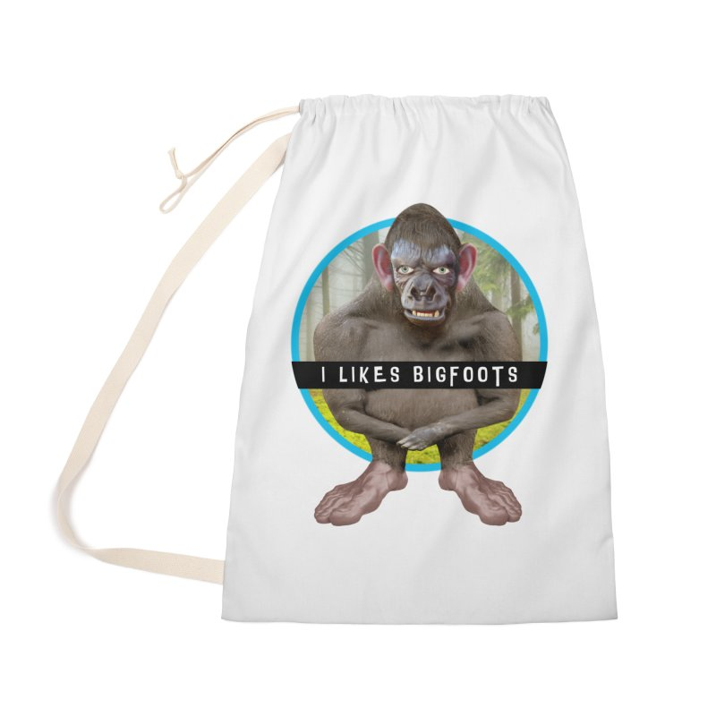 I Likes Bigfoots Accessories Bag by The Rake & Herald Online Clag Emporium