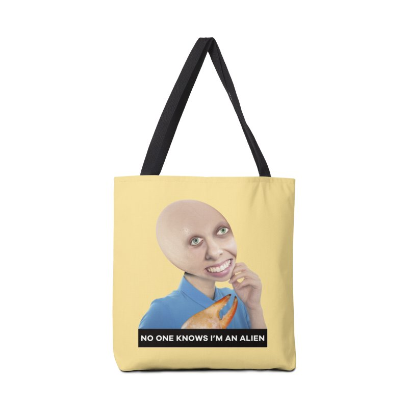 No One Knows I'm an Alien Accessories Bag by The Rake & Herald Online Clag Emporium