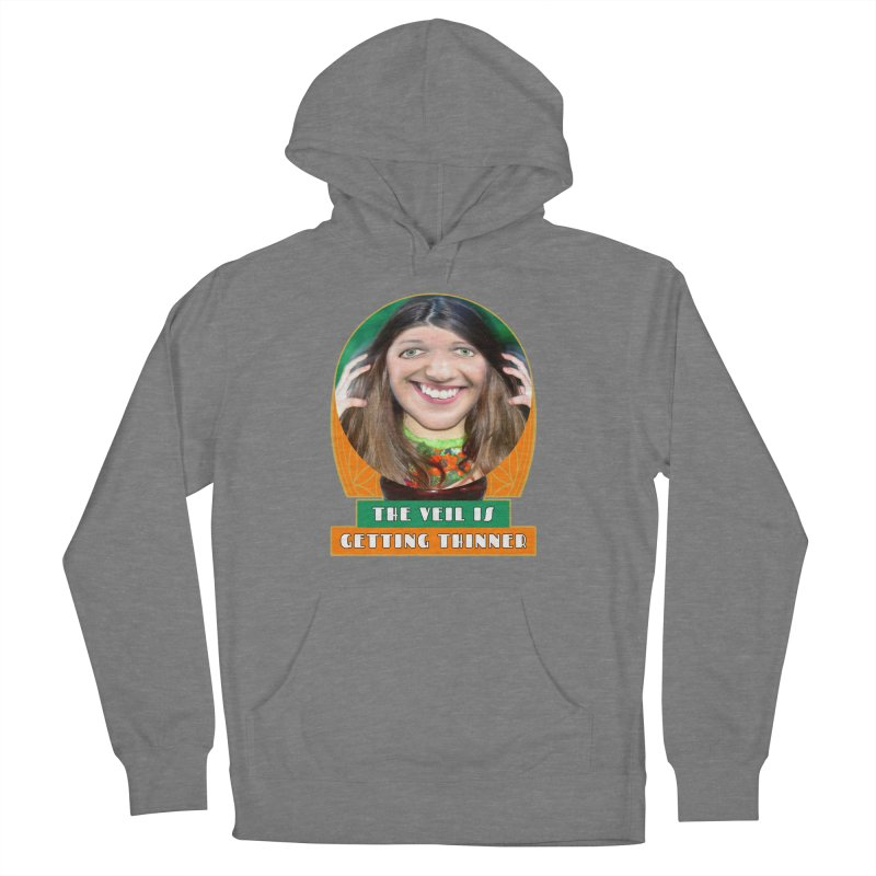 The Veil Is Getting Thinner Women's Pullover Hoody by The Rake & Herald Online Clag Emporium