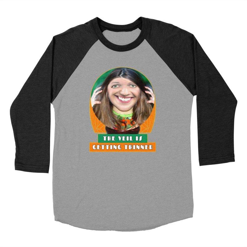 The Veil Is Getting Thinner Women's Baseball Triblend Longsleeve T-Shirt by The Rake & Herald Online Clag Emporium
