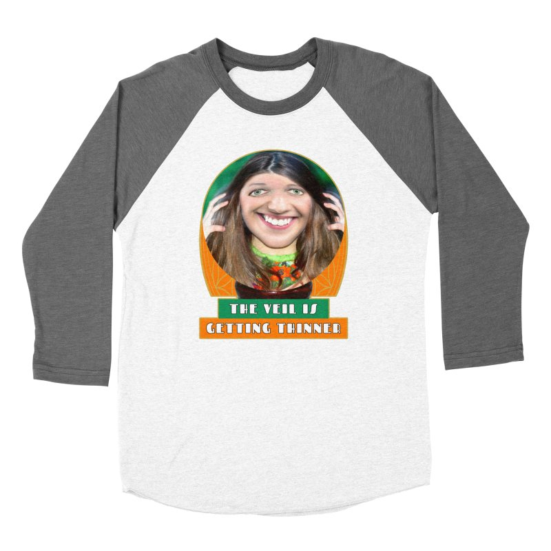 The Veil Is Getting Thinner Men's Baseball Triblend Longsleeve T-Shirt by The Rake & Herald Online Clag Emporium