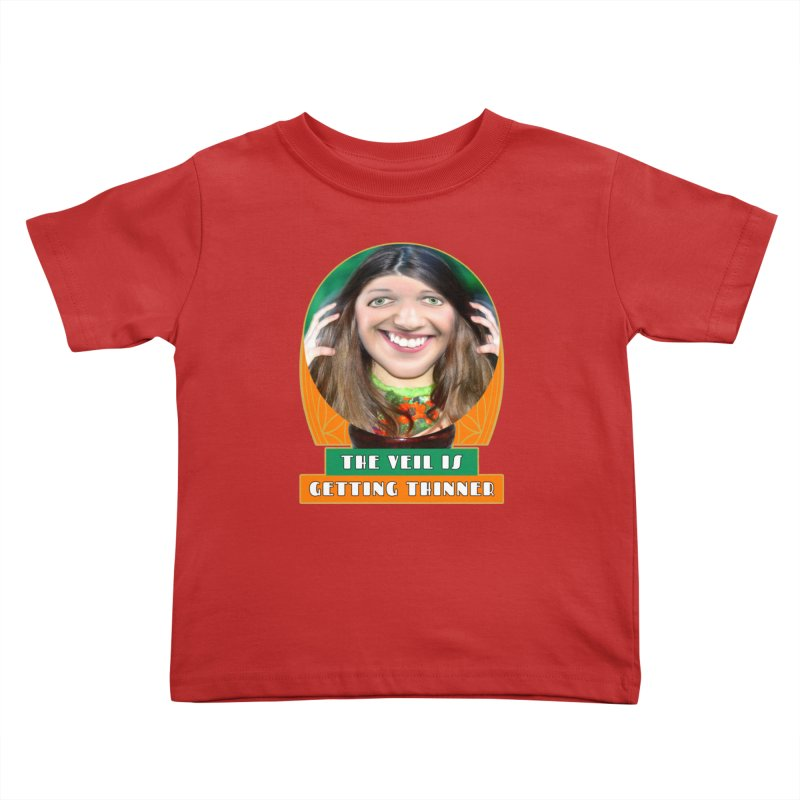 The Veil Is Getting Thinner Kids Toddler T-Shirt by The Rake & Herald Online Clag Emporium