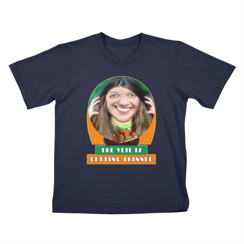 The Veil Is Getting Thinner Kids T-Shirt by The Rake & Herald Online Clag Emporium