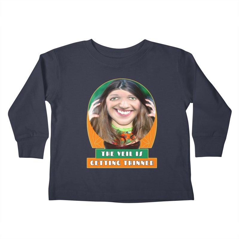 The Veil Is Getting Thinner Kids Toddler Longsleeve T-Shirt by The Rake & Herald Online Clag Emporium