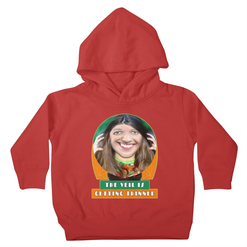 The Veil Is Getting Thinner Kids Toddler Pullover Hoody by The Rake & Herald Online Clag Emporium