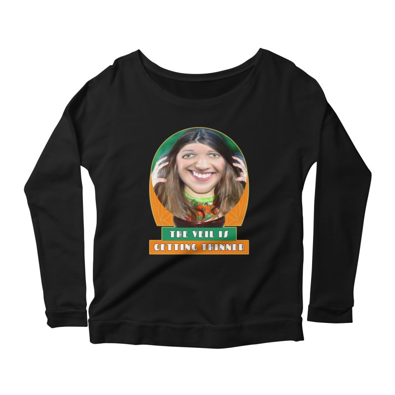 The Veil Is Getting Thinner Women's Longsleeve T-Shirt by The Rake & Herald Online Clag Emporium