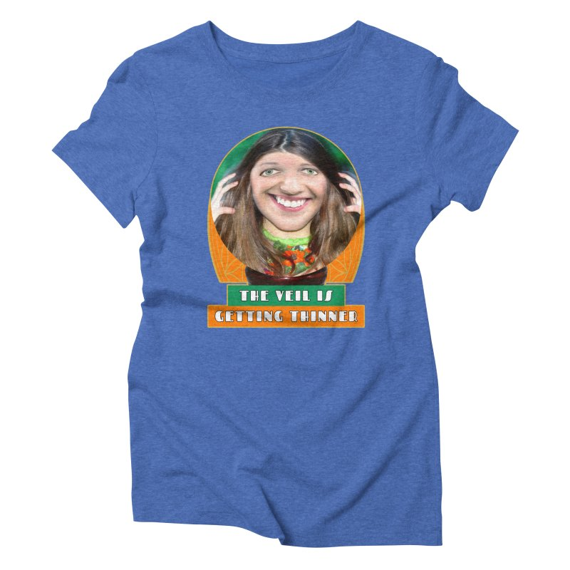 The Veil Is Getting Thinner Women's Triblend T-shirt by The Rake & Herald Online Clag Emporium