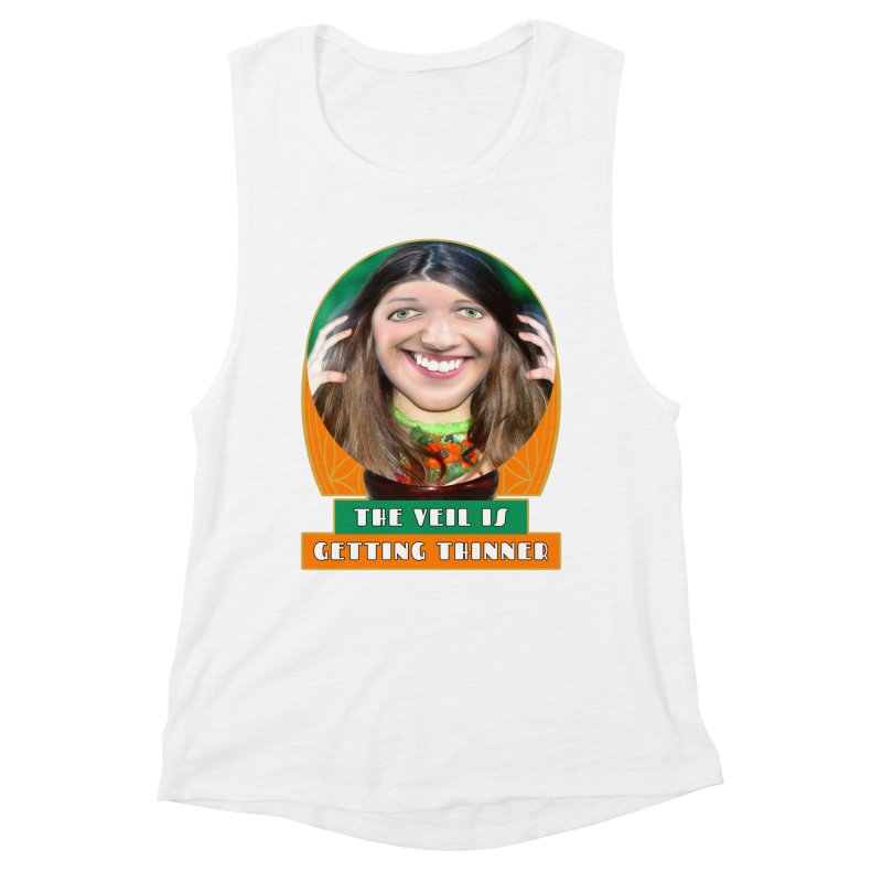 The Veil Is Getting Thinner Women's Muscle Tank by The Rake & Herald Online Clag Emporium
