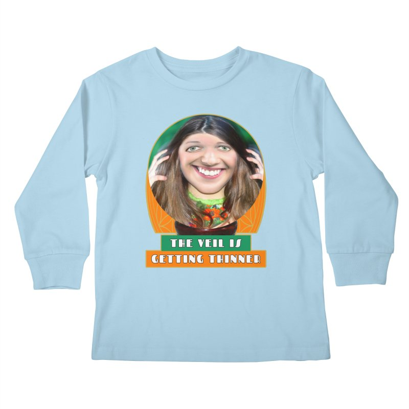 The Veil Is Getting Thinner Kids Longsleeve T-Shirt by The Rake & Herald Online Clag Emporium
