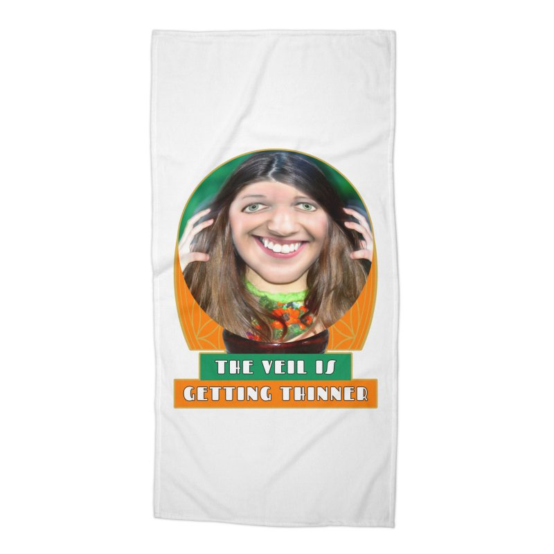 The Veil Is Getting Thinner Accessories Beach Towel by The Rake & Herald Online Clag Emporium