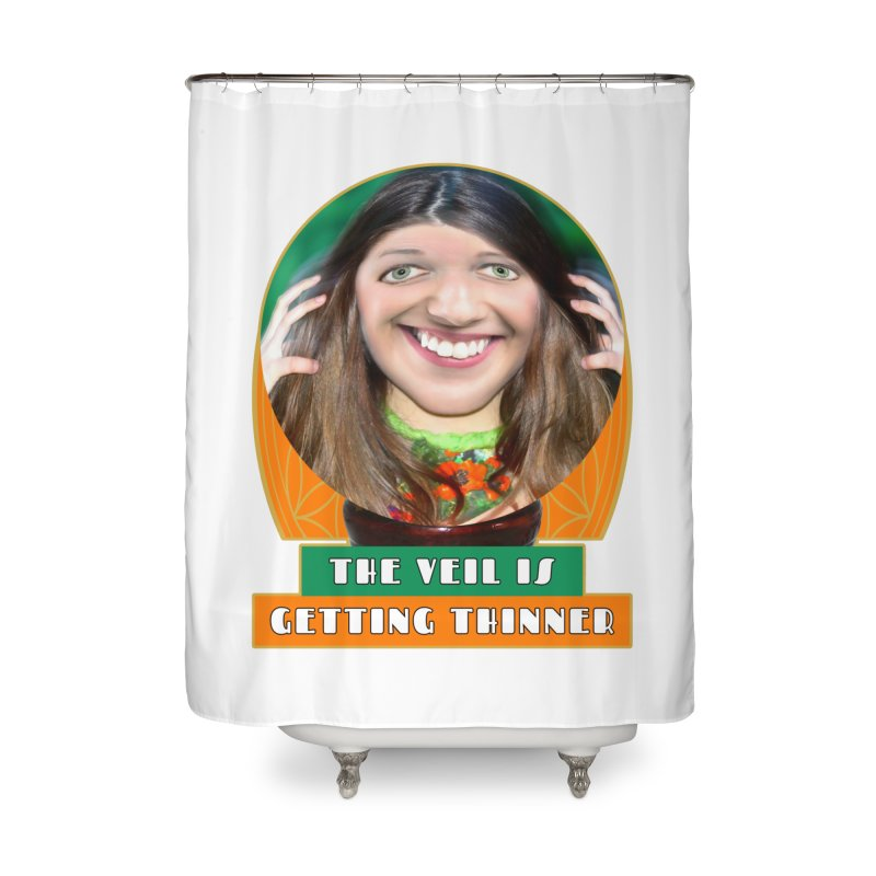 The Veil Is Getting Thinner Home Shower Curtain by The Rake & Herald Online Clag Emporium