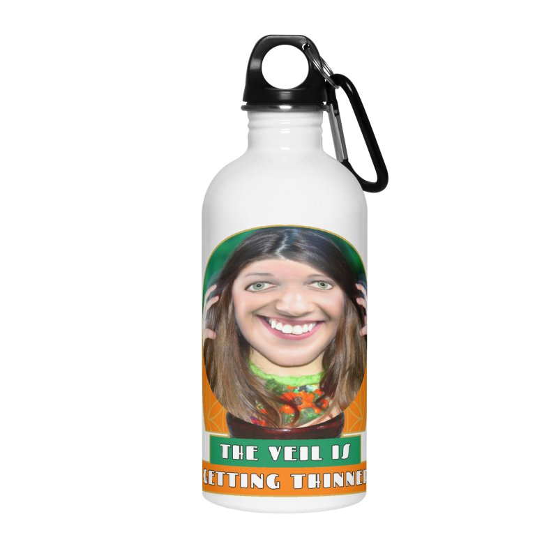 The Veil Is Getting Thinner Accessories Water Bottle by The Rake & Herald Online Clag Emporium