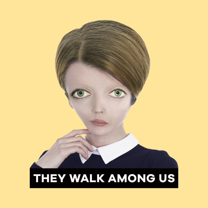 They Walk Among Us Women's T-Shirt by The Rake & Herald Online Clag Emporium