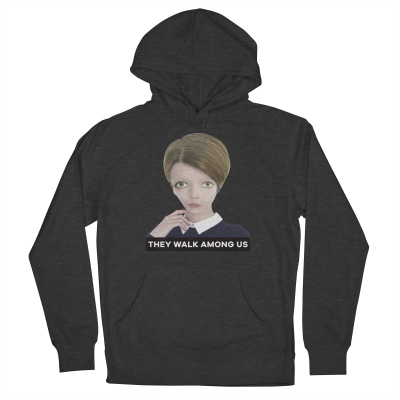 They Walk Among Us Men's French Terry Pullover Hoody by The Rake & Herald Online Clag Emporium