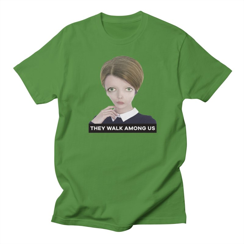 They Walk Among Us Women's Unisex T-Shirt by The Rake & Herald Online Clag Emporium