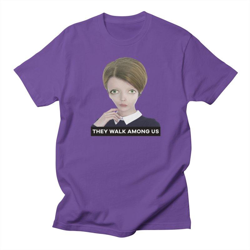 They Walk Among Us Men's Regular T-Shirt by The Rake & Herald Online Clag Emporium