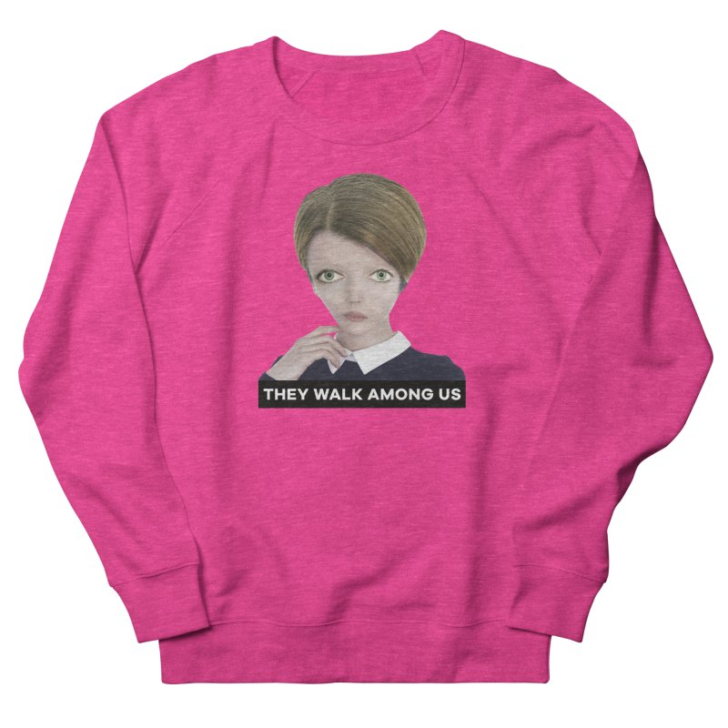 They Walk Among Us Women's French Terry Sweatshirt by The Rake & Herald Online Clag Emporium