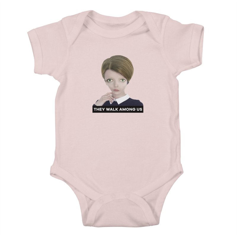 They Walk Among Us Kids Baby Bodysuit by The Rake & Herald Online Clag Emporium