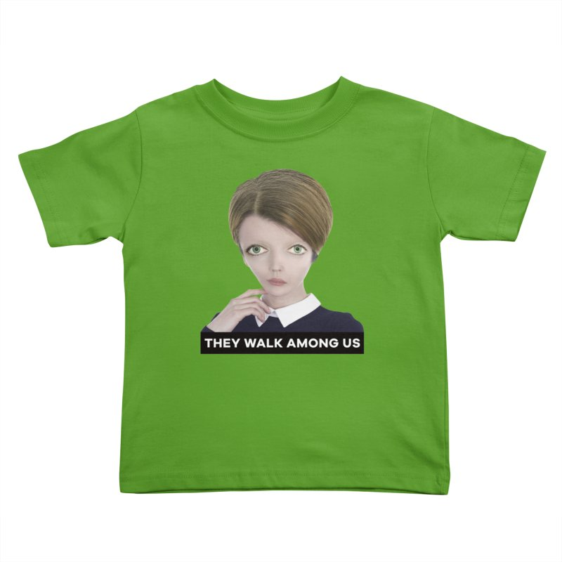 They Walk Among Us Kids Toddler T-Shirt by The Rake & Herald Online Clag Emporium