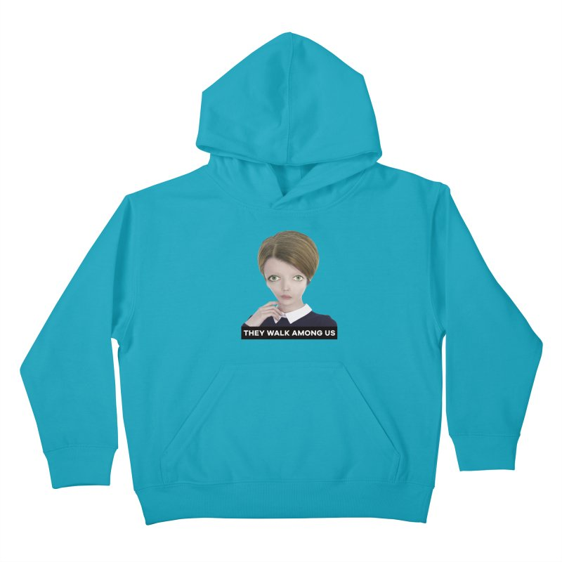 They Walk Among Us Kids Pullover Hoody by The Rake & Herald Online Clag Emporium