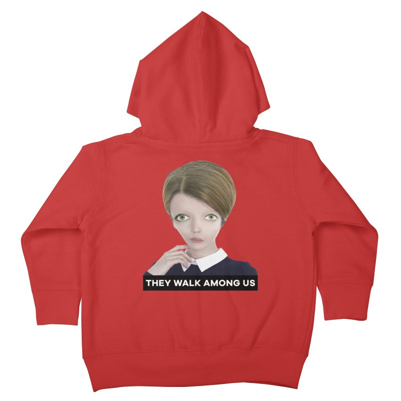 They Walk Among Us Kids Toddler Zip-Up Hoody by The Rake & Herald Online Clag Emporium