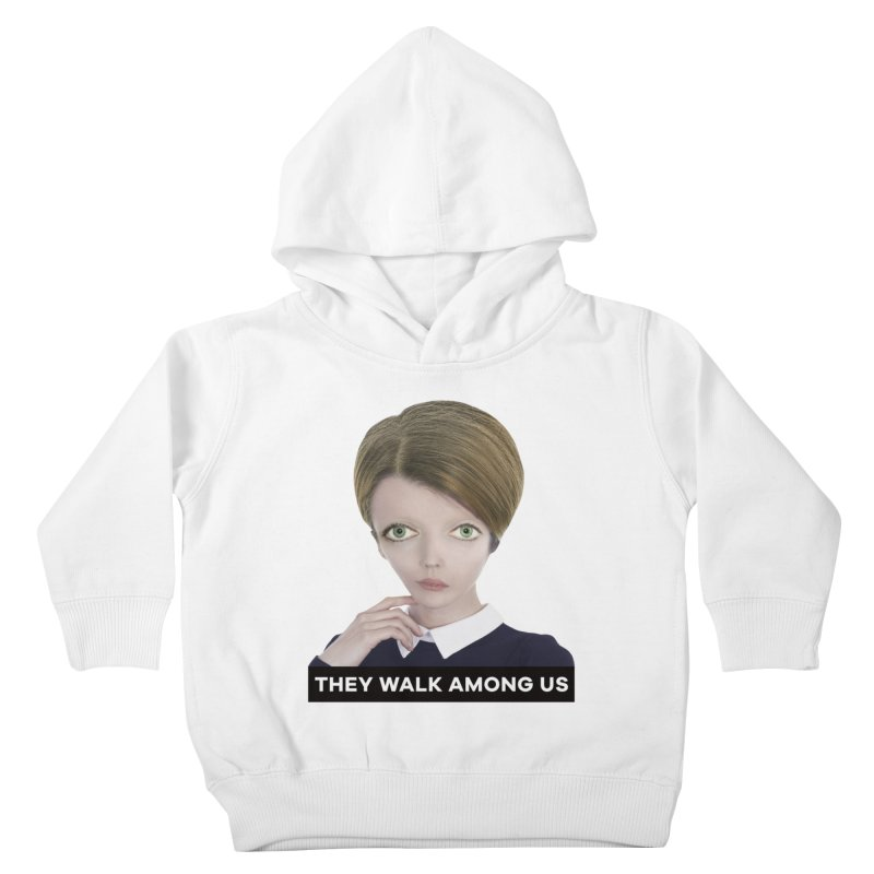 They Walk Among Us Kids Toddler Pullover Hoody by The Rake & Herald Online Clag Emporium