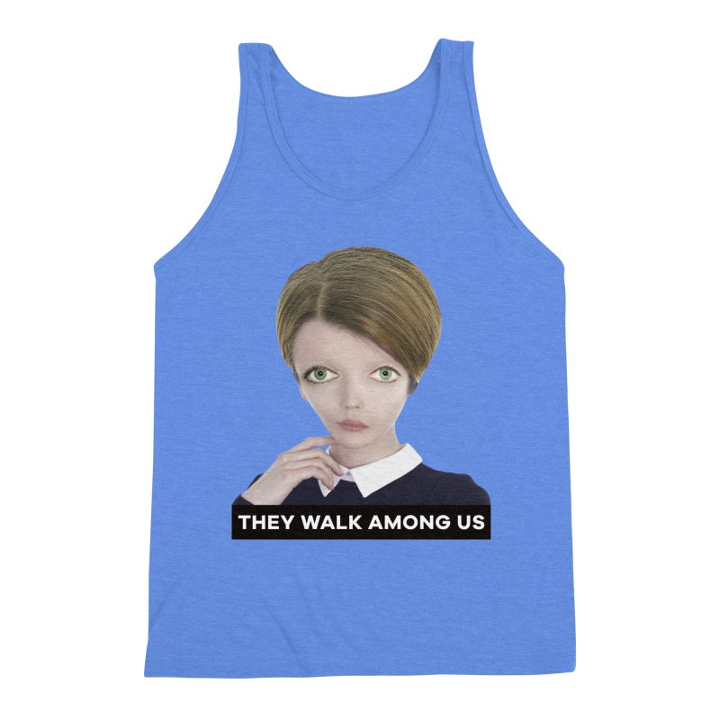 They Walk Among Us Men's Triblend Tank by The Rake & Herald Online Clag Emporium