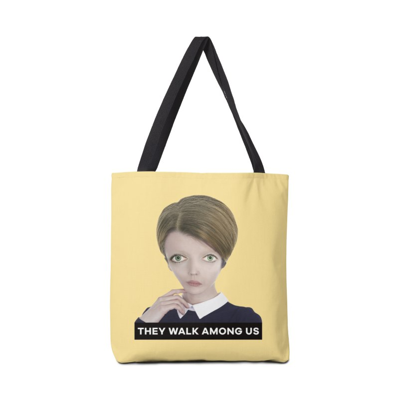 They Walk Among Us Accessories Tote Bag Bag by The Rake & Herald Online Clag Emporium