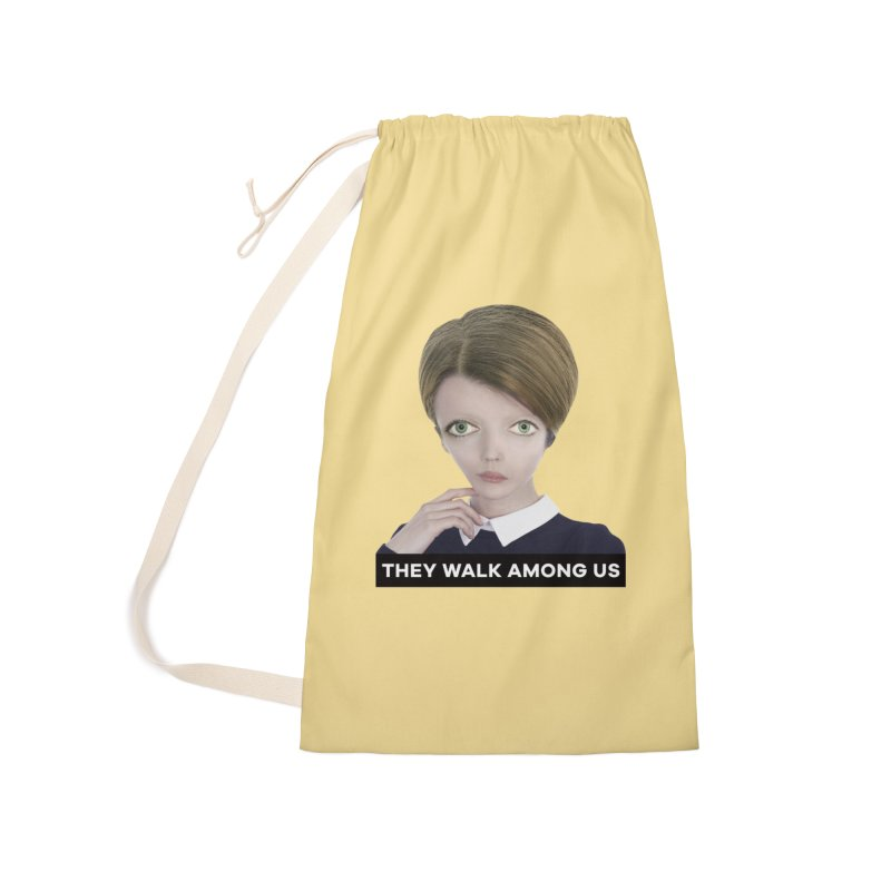 They Walk Among Us Accessories Laundry Bag Bag by The Rake & Herald Online Clag Emporium