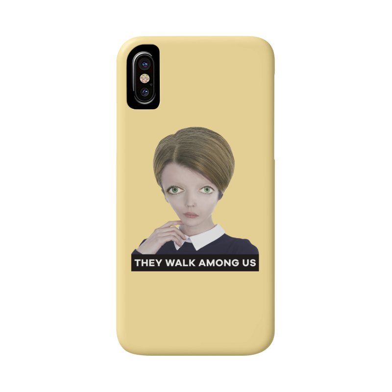 They Walk Among Us Accessories Phone Case by The Rake & Herald Online Clag Emporium