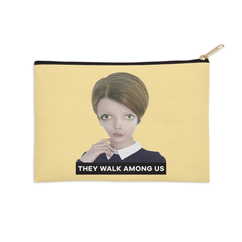 They Walk Among Us Accessories Zip Pouch by The Rake & Herald Online Clag Emporium
