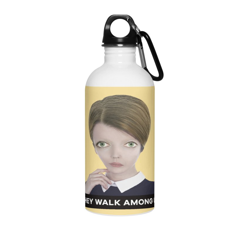 They Walk Among Us Accessories Water Bottle by The Rake & Herald Online Clag Emporium