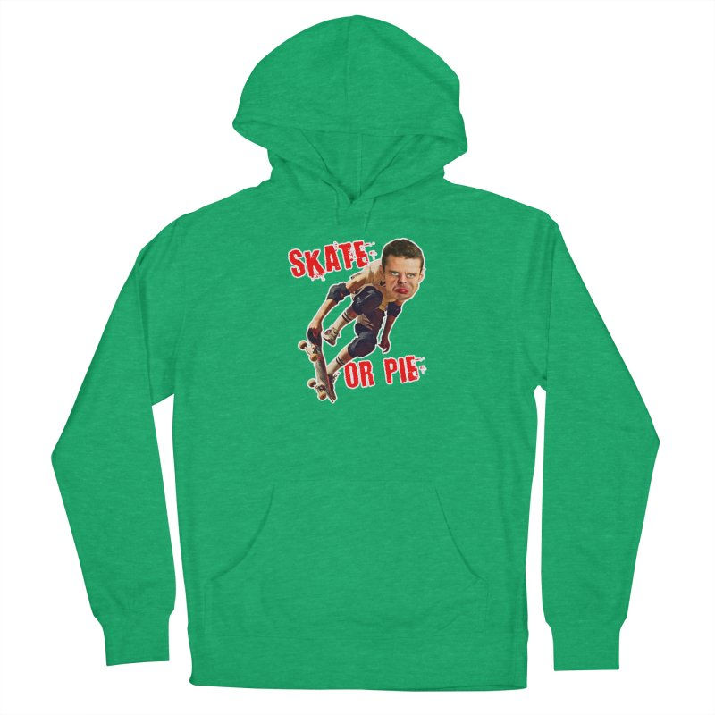 Skate or Pie Women's French Terry Pullover Hoody by The Rake & Herald Online Clag Emporium