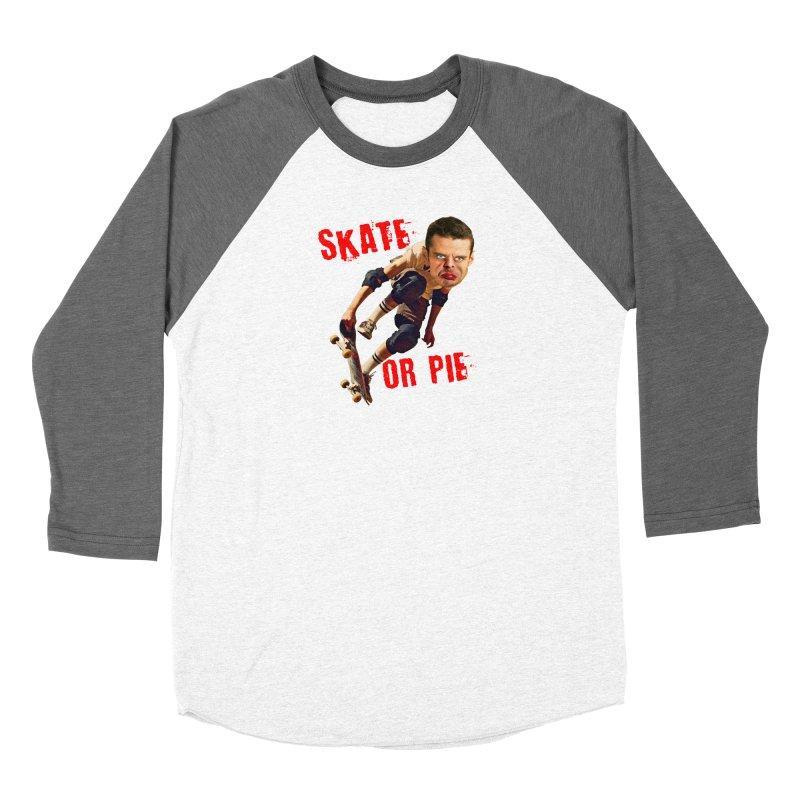 Skate or Pie Women's Longsleeve T-Shirt by The Rake & Herald Online Clag Emporium