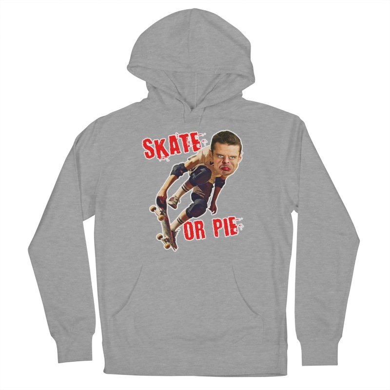 Skate or Pie Women's Pullover Hoody by The Rake & Herald Online Clag Emporium