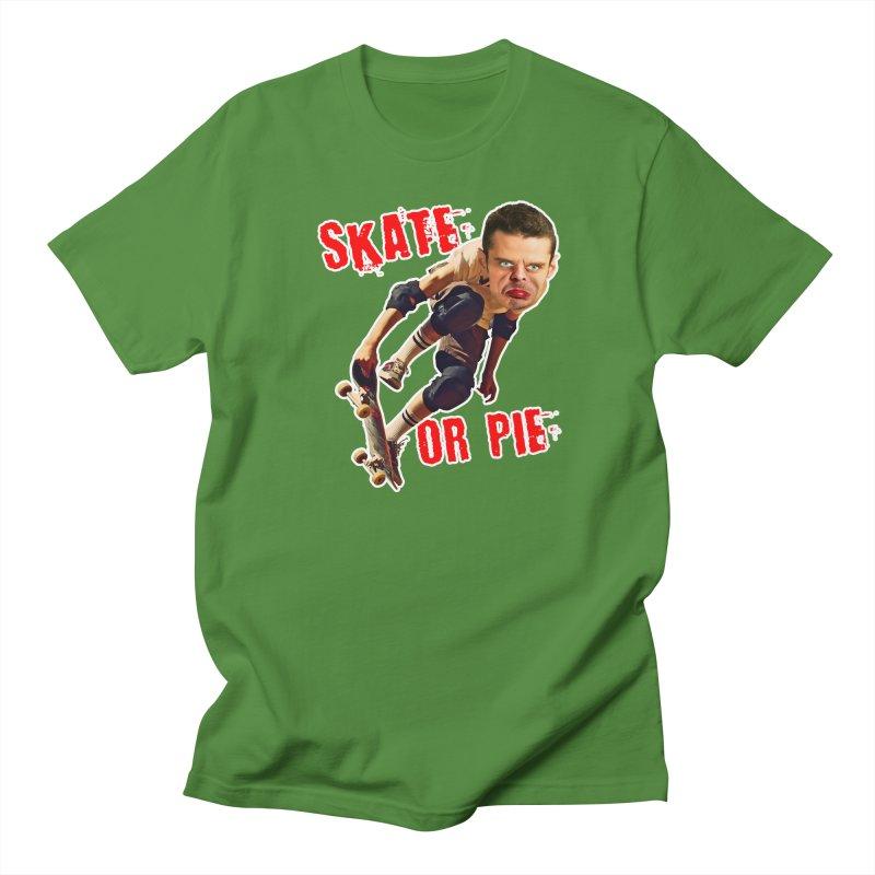 Skate or Pie Men's T-Shirt by The Rake & Herald Online Clag Emporium