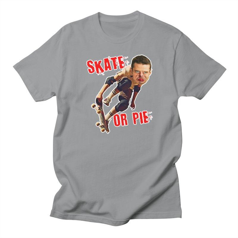 Skate or Pie Men's Regular T-Shirt by The Rake & Herald Online Clag Emporium